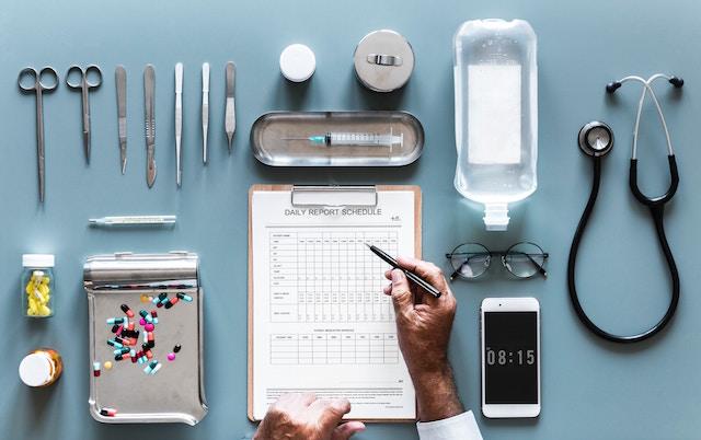 medical check sheet